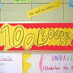 INSTRUCTION: Celebrating One Hundred Books - This collaborative learning goal motivates students to engage in consistent reading practise and strengthens the bonds of the classroom community as all students - regardless of reading level - can contribute. Reading Goals, Reading Levels, What To Read, Learn To Read, Intrinsic Motivation, Balanced Literacy, What Book, Student Motivation, Teaching Activities