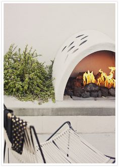 Fire pit mid-century #midcentury #firepit