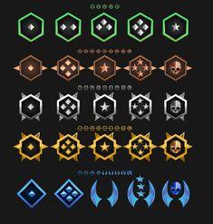 Game Badge Icon Design for Robotic Warriors on Behance icon design