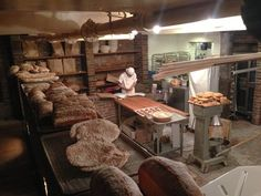 Apparently the owner found a 140 year old oven in the basement, original wood burning, so they made a bakery by night! amazing | Yelp