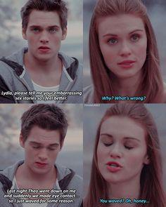 Teen Wolf Stydia, Teen Wolf Mtv, Teen Wolf Funny, Teen Wolf Boys, Teen Wolf Dylan, Teen Wolf Cast, Teen Wolf Tumblr, Teen Wolf Quotes, Teen Wolf Memes