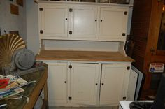 details about antique kitchen cupboard step back cabinetold house salvage hoosier style details about   antique carved oak pediment  57 inches      rh   pinterest com