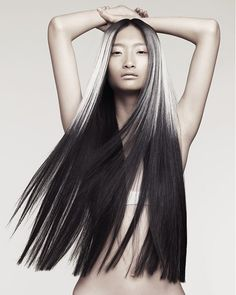 Long Black Hairstyles Supernatural.....beautiful...#long #hairstyle....I love it...<3 #haircolor #beauty #trends