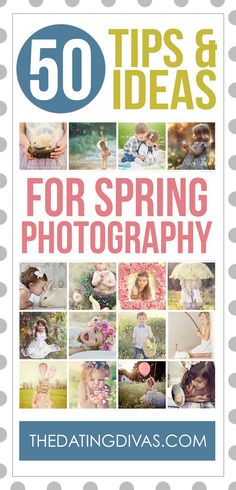 Wowzer!  Sooooo many cute ideas for Spring and Easter photography in here. Lots of inspiration including prop ideas and what to wear.  Plus FREE photoshop actions. www.TheDatingDivas.com