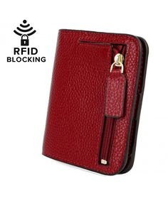Women's RFID Blocking Small Compact Leather Wallet Ladies Mini Purse with ID Window Rfid Wallet, Pocket Wallet, Cute Gift Boxes, Wallets For Women Leather, Mini Purse, Gifts For Teens, Fashion Bags, Women's Fashion, Leather Wallet