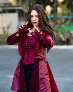 Complete photoshoot on PATREON:www.patreon.com/FlorenciaSofenHope you like it!•Florencia Sofen Cosplayas Scarlet Witch Avengers: Civil War Marvel Comics &#...