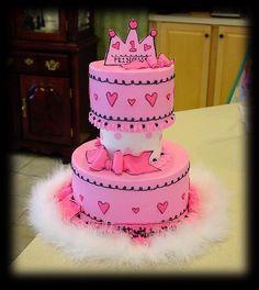 Princess Cake ~ so cute!
