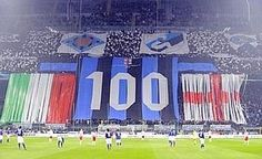 100 Year Anniversary Inter Milan.  March 2008 Inter vs Reggina 1-0 (Ibrahimović)