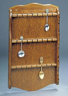 how to build a spoon display case | crafty stuff | Pinterest ...