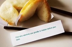 How to make fortune cookies...want to try.