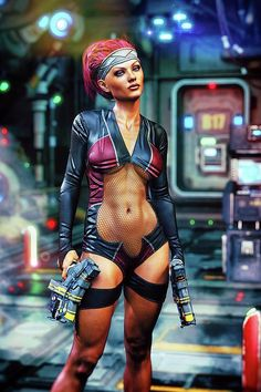 "On-board the deep space transport ""the Arc"". This lady is really rocking the ""sexy sci fi"" look! Fantasy Women, Fantasy Girl, Dark Fantasy, Cyberpunk Girl, Cyberpunk Character, Chica Fantasy, Futuristic Art, Warrior Girl, Ex Machina"
