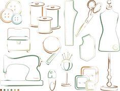 Afbeeldingsresultaat voor sewing graphic design