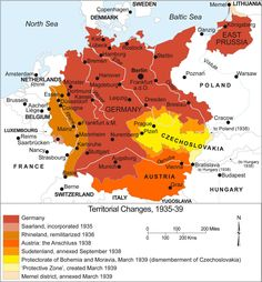 Map of German Expansion just before WWII. ***** From Latvia being a part of SWEDEN, and it's culture,it now became part of GERMANY, both cultures left significant contributions to the Latvian Culture. European History, World History, World War, American History, Danzig, Alternate History, Old Maps, Prussia, Historical Maps