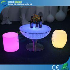 modern furniture design light up bar table www.goldlik.com