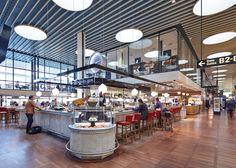 Le Sommelier, Bar and Bistro, Copenhagen Airport, Terminal 2 Airside - Duncalf.