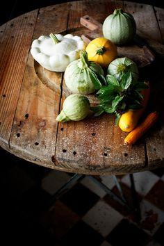 Carpaccio de calabacín - Because blog