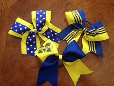 Bows for game days!
