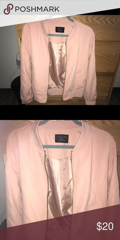 a28abb613915b Light pink bomber jacket Light pink bomber jacket