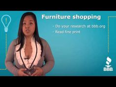 BBB QuickTips: Online furniture shopping