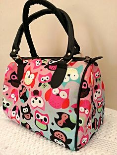 Cute owls Digital Print Hand bag for only 1049/-