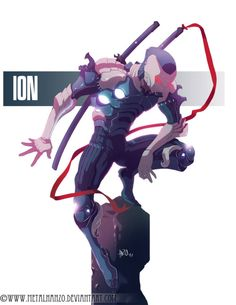 N.E.O.N.Manga -Ion- by HeavyMetalHanzo on