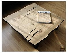 Modern Distressed Coffee Table by MSTRF