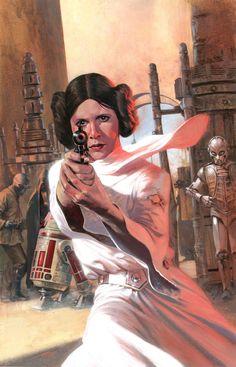 Princess Leia #4 by Gabriele Dell'Otto *                                                                                                                                                      More