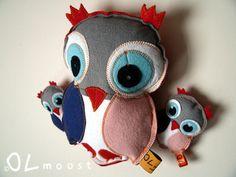 Uil #knuffel #handmade | Olmoost