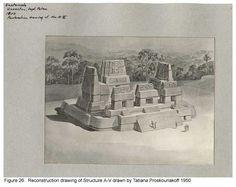 Mayan Structure by Tatiana Proskouriakoff