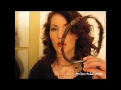 curly hair without heat! so easy!!!