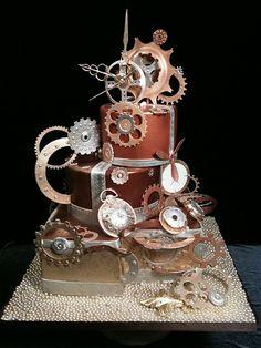 Just Cake | Portfolio crazy clockwork cake