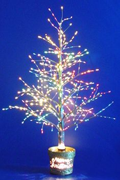 Fiber Optic Trees at WalMart | Revolving Fiber Optic Christmas ...