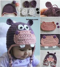 bebek bere modelleri ve yapýlýþý The Whoot, Crochet Animal Hats, Cute Baby Animals, Cute Babies, Funny Babies, Cutest Baby Animals, Cute Kids