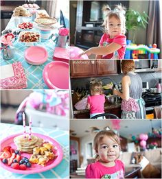 Breakfast Birthday Party!