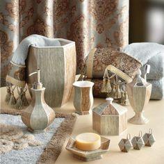 croscill magnolia bath collection   house - bathroom   pinterest