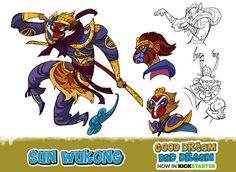 Sun-Wukong, the monkey king by Onikaizer.deviantart.com on @deviantART