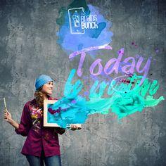 #HappyMonday to all our followers. Today is a great day to be creative! | #FelizLunes a todos nuestros seguidores. ¡Hoy es un buen día para ser creativos! #best #peoplescreatives #goodtimes #goodvibes