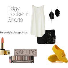 """Edgy Rocker in Shorts"""