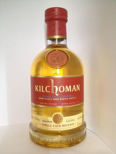 Kilchoman Bourbon Single Cask Bottled Exclusively for Ramseyer's Whisky Connection Scotch Whisky, Bourbon, Whiskey Bottle, Connection, Alcohol, Food, Alcoholic Drinks, Alcohol Free, Drinking