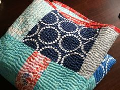 I love the dimension and texture hand this hand quilting provides | Contented