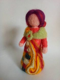 Fairy autumn, measures about 17 cm, made of wool Merino, wool xisqueta and wool Tyrolean. ideal for table or corner fall Needle Felting, Merino Wool, Fairy, Crafting, Teddy Bear, Christmas Ornaments, Toys, Holiday Decor, Autumn Fairy