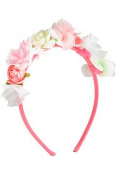 Girls' hair accessories - H&M Alice band with flowers