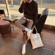 Margaret Howell, Louis Vuitton Neverfull, Paper Shopping Bag, Madewell, Tote Bag, Bags, Dec 12, Style, City