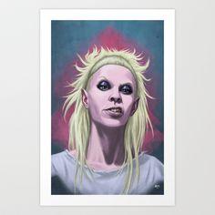 Yolandi Vi$$er (Die Antwoord) Art Print by Andrea Mangiri - $20.00