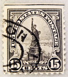 old american stamp USA 15c United States u.s. postage 15c Lady Liberty Statue of Liberty (World Heritage Site) Freiheitsstatue timbre Stamp USA United States of America timbre États-Unis u.s. postage selo Estados Unidos sello USA francobolli USA 15 cents | Flickr - Photo Sharing!