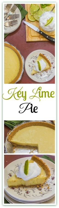 Key Lime Pie. (VIDEO) An iconic Florida dessert made from Key lime juice, sweetened condensed milk, egg yolks and lime zest in a graham cracker crust.