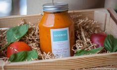 Heirloom Tomato Basil Soup - Sandra's Soups and Sweets