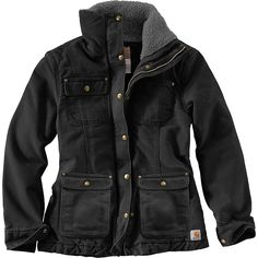 Coats For Women, Jackets For Women, Clothes For Women, Carhartt Jacket, Womens Carhartt Coat, Winter Outfits, Winter Clothes, Work Wear, Winter Jackets