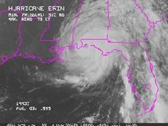 This is the story of my experience in the eye wall of Hurricane Erin August 3, 1995 at 9 in the morning. ( I know it's not 2017 but it's a hurricane and I created this board. ) :) enjoy!
