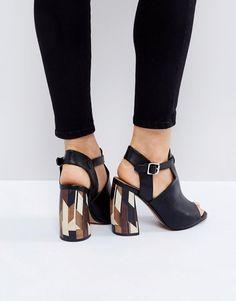 ASOS EMERGE Shoe Boots - Black
